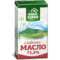 Масло сливочное Край Курая крестьянское 72,5% 180 г