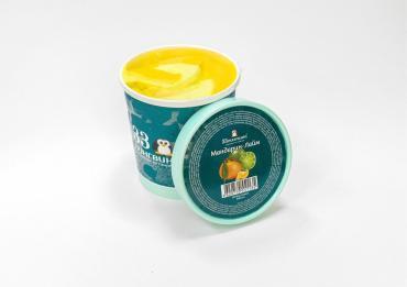 Мороженое Сорбет Мандарин-Лайм 33 Пингвина, 330 гр., пластиковый стакан