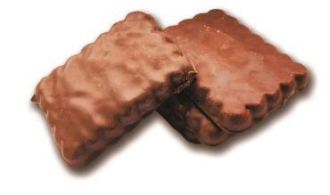 Печенье Посиделки в шоколадной глазури