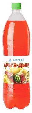 Газированная вода Арбуз-дыня Ниагара, 2 л., Пластиковая бутылка