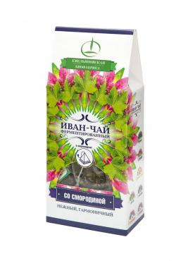 Иван-чай с Листьями Смородины в пирамидках