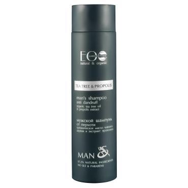 Шампунь для мужчин от выпадения волос, EcoLab, 250 мл., пластиковая бутылка
