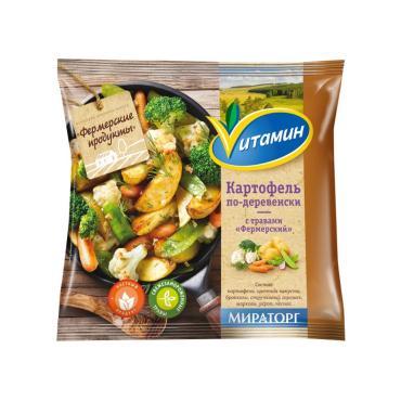 Полуфабрикат Vитамин Картофель по-деревенски с травами