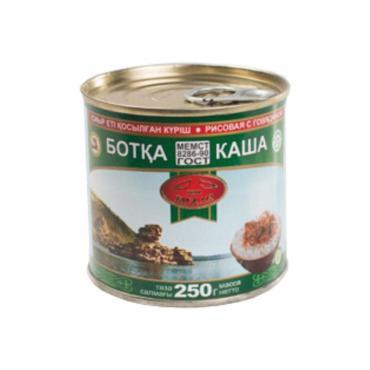 Консервы МПК Бижан Каша рисовая с говядиной