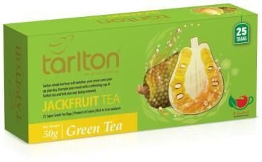 Чай Tarlton зеленый Джек Фрут 25 пак.