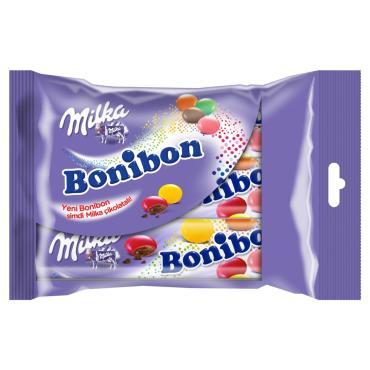 Драже Milka Bonibon шоколадное