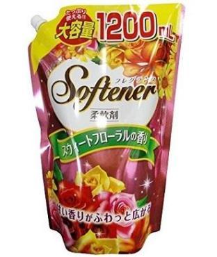 Антибактериальный кондиционер ополаскиватель для белья Nihon Deterdent Softener Floral