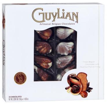 Конфеты Guylian Морские ракушки шоколадные 250г