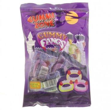 Мармелад Челюсти, Gummy Zone Gummy Fangs, 99 гр., Флоу-пак