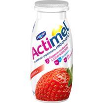 Кисломолочный напиток Actimel клубника 2,5%