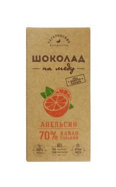 Шоколад Шоколад На Меду Горький 70% какао С Апельсином