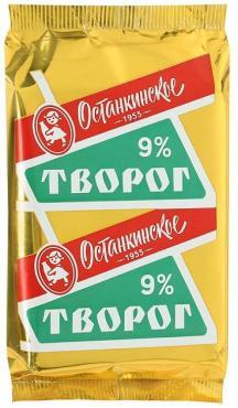 Творог  Останкинский МК 9% 180г