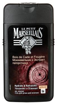 Гель для душа Le Petit Marseillais мужской Можжевельник и экстракт папоротника 250мл