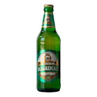 Пиво Хадыженское светлое непастеризованное фильтрованное