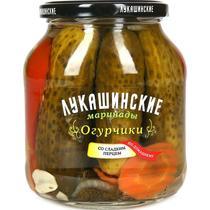 Огурчики Лукашинские Со сладким перцем