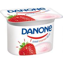 Йогурт Danone Клубника густой 2,9%