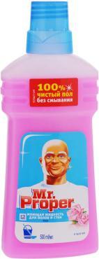 Жидкость моющая Mr. Proper Роза Для полов и стен