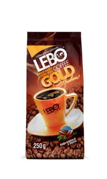 Кофе Lebo Gold в зернах 250 г.
