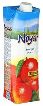 Нектар манго Premium, Армения, Noyan, 1 л., тетра-пак