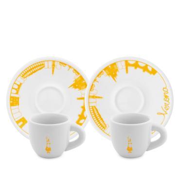 Набор Bialetti Кофейные пары Moka стекло 2 шт.