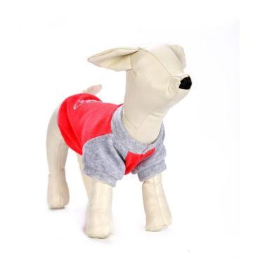 Толстовка OSSO fashion из велюра с капюшоном для собак
