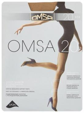 Колготки OMSA Riposante 20 Den Caramello 5 XL