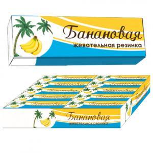 Жевательная резинка Plastinki Банановая