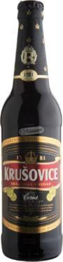 Пиво Krusovice Cerne темное фильтрованное 3,8%