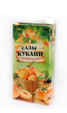 Сок Сады Кубани абрикос