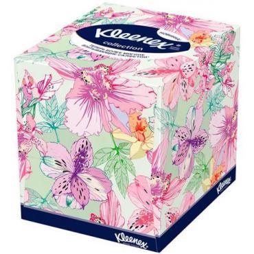 Салфетки для лица Kleenex Collection, 100 шт., картонная коробка