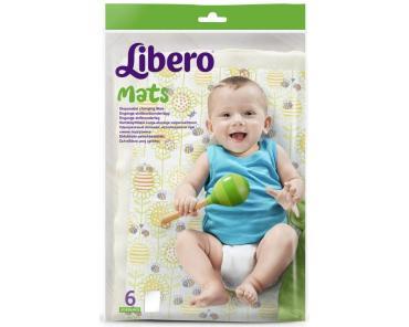 Пеленки впитывающие Libero Mats Для детей 50х70см 6шт