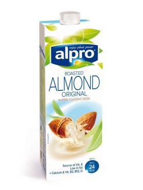 Молоко Миндальное 1,1%, Alpro, 1 л., тетра-пак