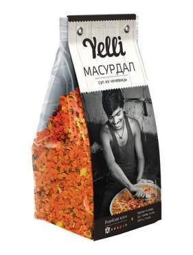 Суп Yelli, Масурдал из чечевицы, 250 гр., дой-пак