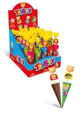 Шоколадный зонтик Toybox, 26 гр., обертка фольга/бумага