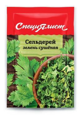 Приправа СпециЯлист Сельдерей сушеный, 8 гр., бумажная упаковка