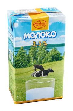 Молоко Малочны гасцiнец Стерилизованное 2,5%