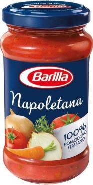 Соус томатный с овощами Barilla Napoletana, 200 гр., стекло