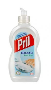 Средство для мытья посуды Pril Бальзам Алоэ Вера 450мл