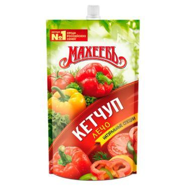 Кетчуп Лечо Махеевъ, 300 гр., дой-пак с дозатором