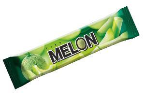 Мороженое эскимо  дынное 6 % like MELON, ПОЛЯРИС, 60 гр., флоу-пак