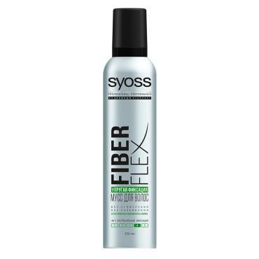 Мусс SYOSS для волос Fiber Flex