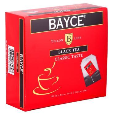 Чай Bayce Classic Taste черный 100 пак.