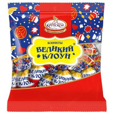 Конфеты Фабрика Крупской Великий клоун, 200 гр., флоу-пак
