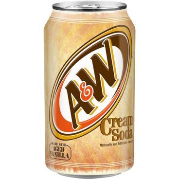 Газированный напиток A&W Cream Soda