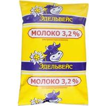 Молоко Эдельвейс 3,2% 900 мл