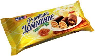 Мини-рулеты Домашний Вареная сгущенка, 150г