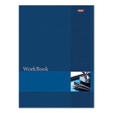 Книга учета Hatber синяя 210х285 мм блок сшито-клееный тиснение клетка 96 л