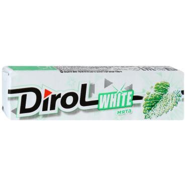 Жевательная резинка Dirol White Мята