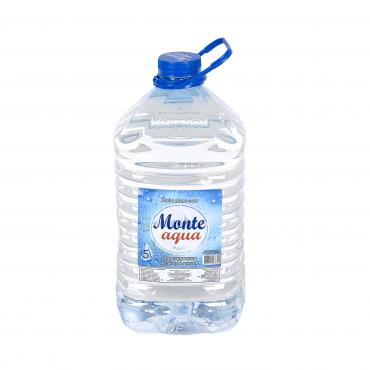 Вода питьевая Monte aqua негазированная артезианская