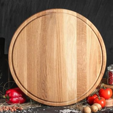 Доска Доброе дерево Для пиццы 45 см. массив дуба